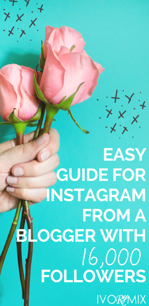 easy guide to instagram from a blog with 16,000 followers