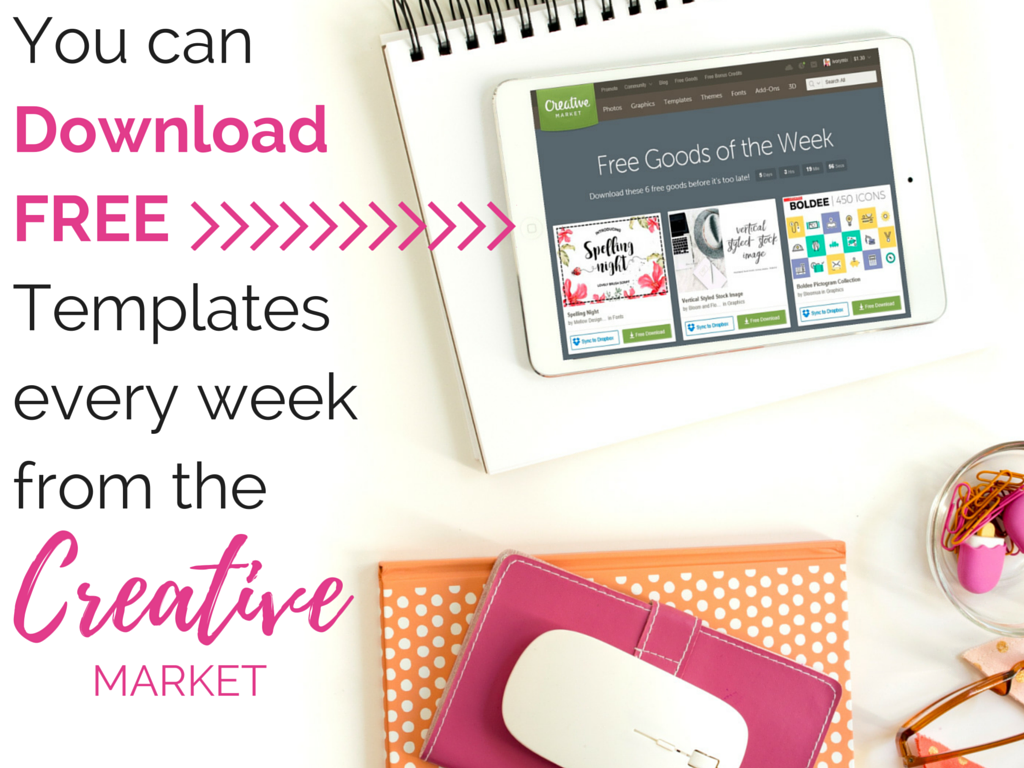 You can Download Free Templates every week from
