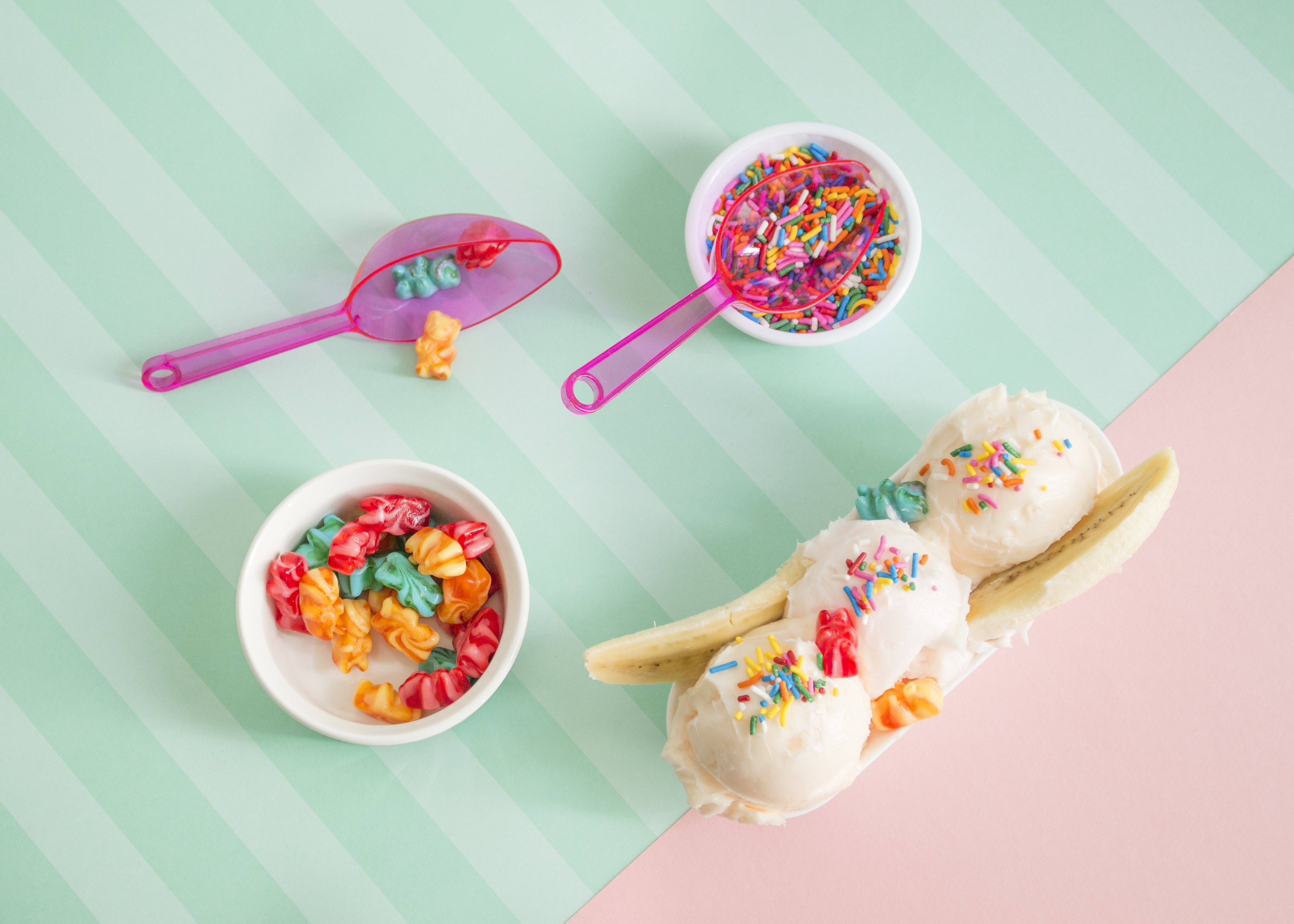 How to DIY Fake Ice Cream for Food Photography