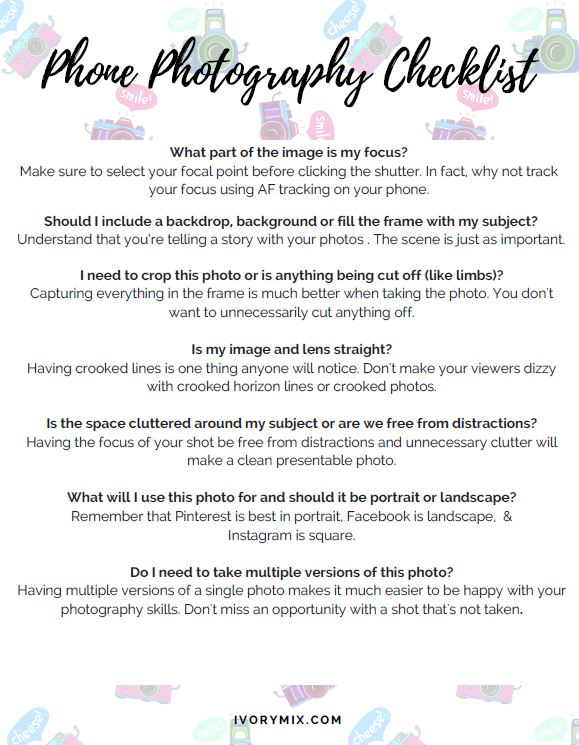 capture-phone-checklist
