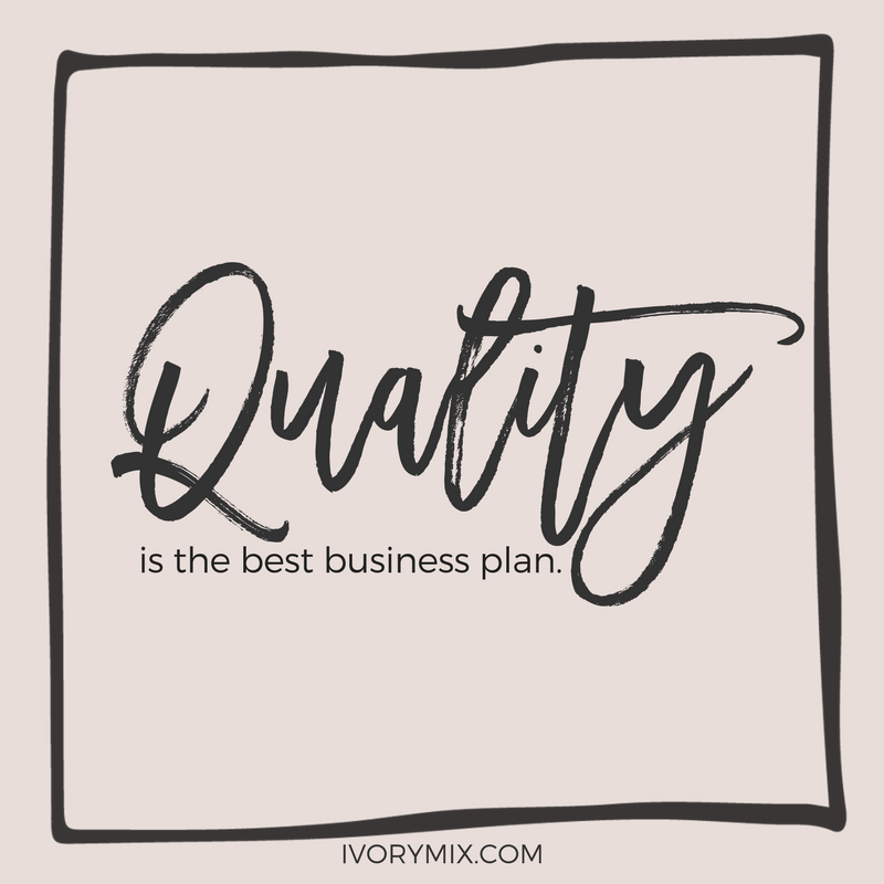 quality is the best business plan for your blog. write long content and grow your blog traffic