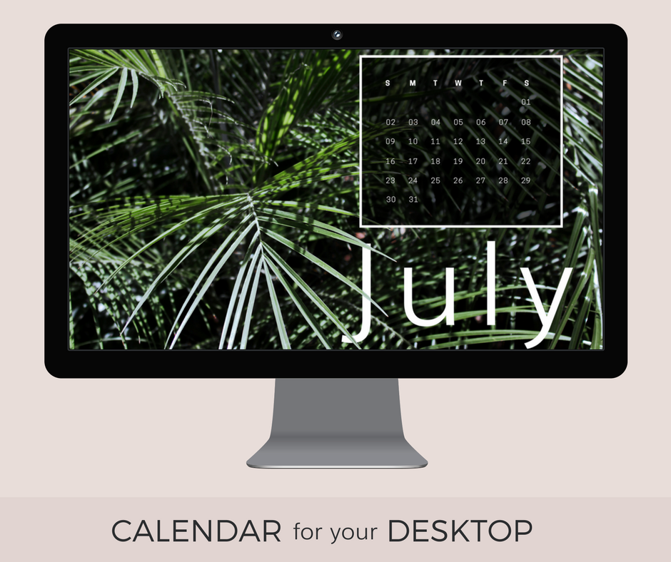 July 2017 Desktop Wallpaper download