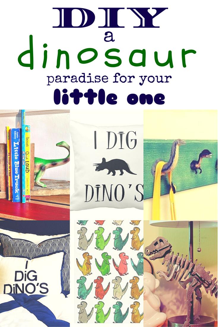 Dinosaur Bedroom DIY ways to create a dinosaur paradise for your little one