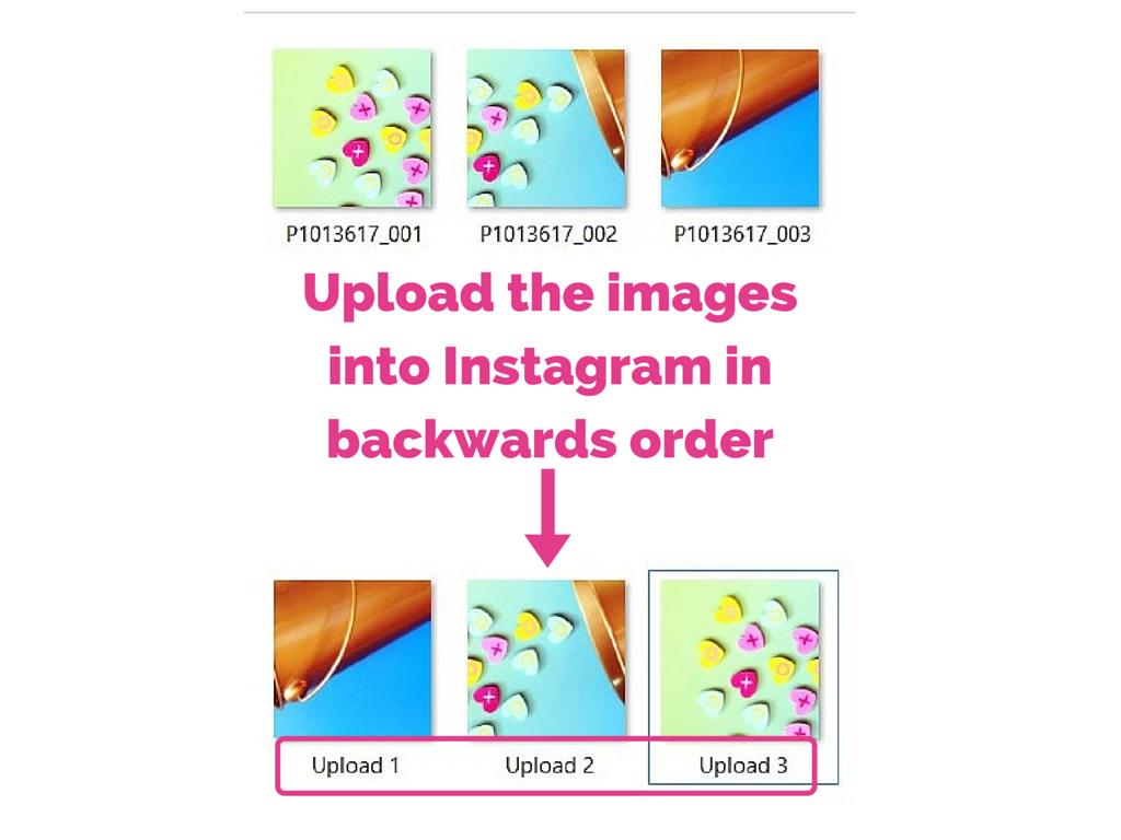 3 part instagram post