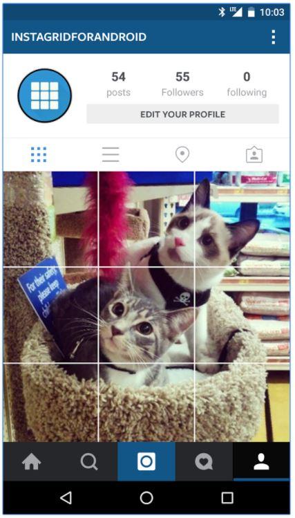 create 3 part instagram post