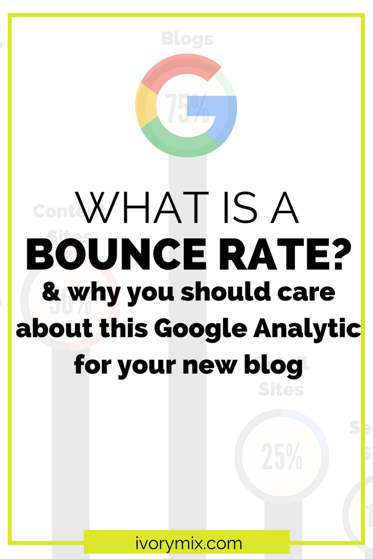 What is a bounce rate and why you should care for your blog