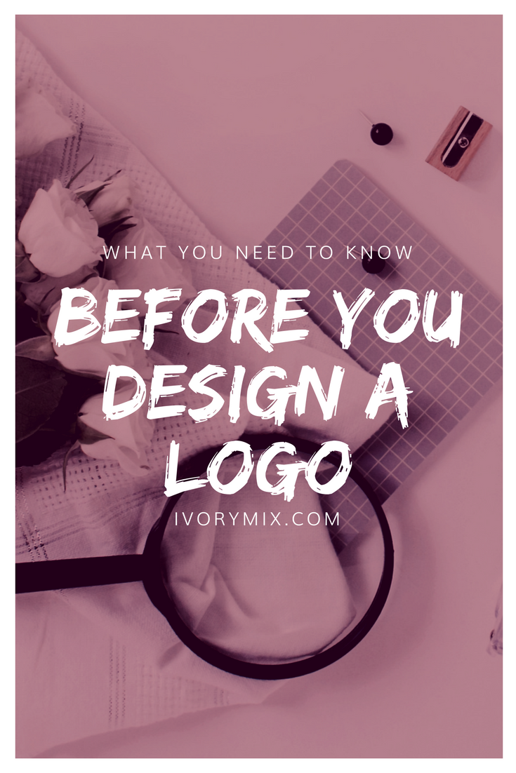 What you need to do before you design a logo for your blog and website