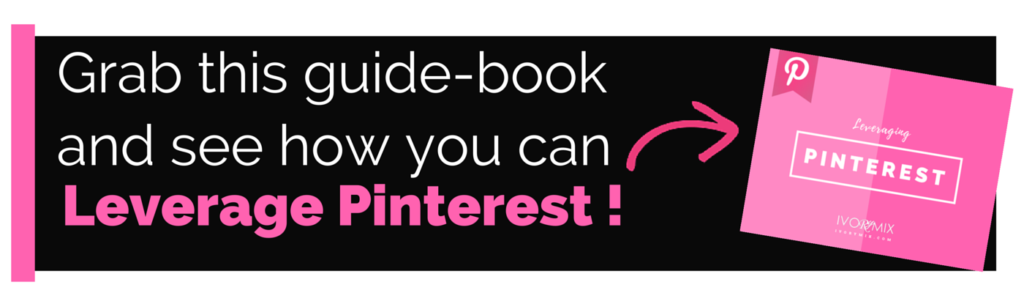 Leverage pinterest for your blog