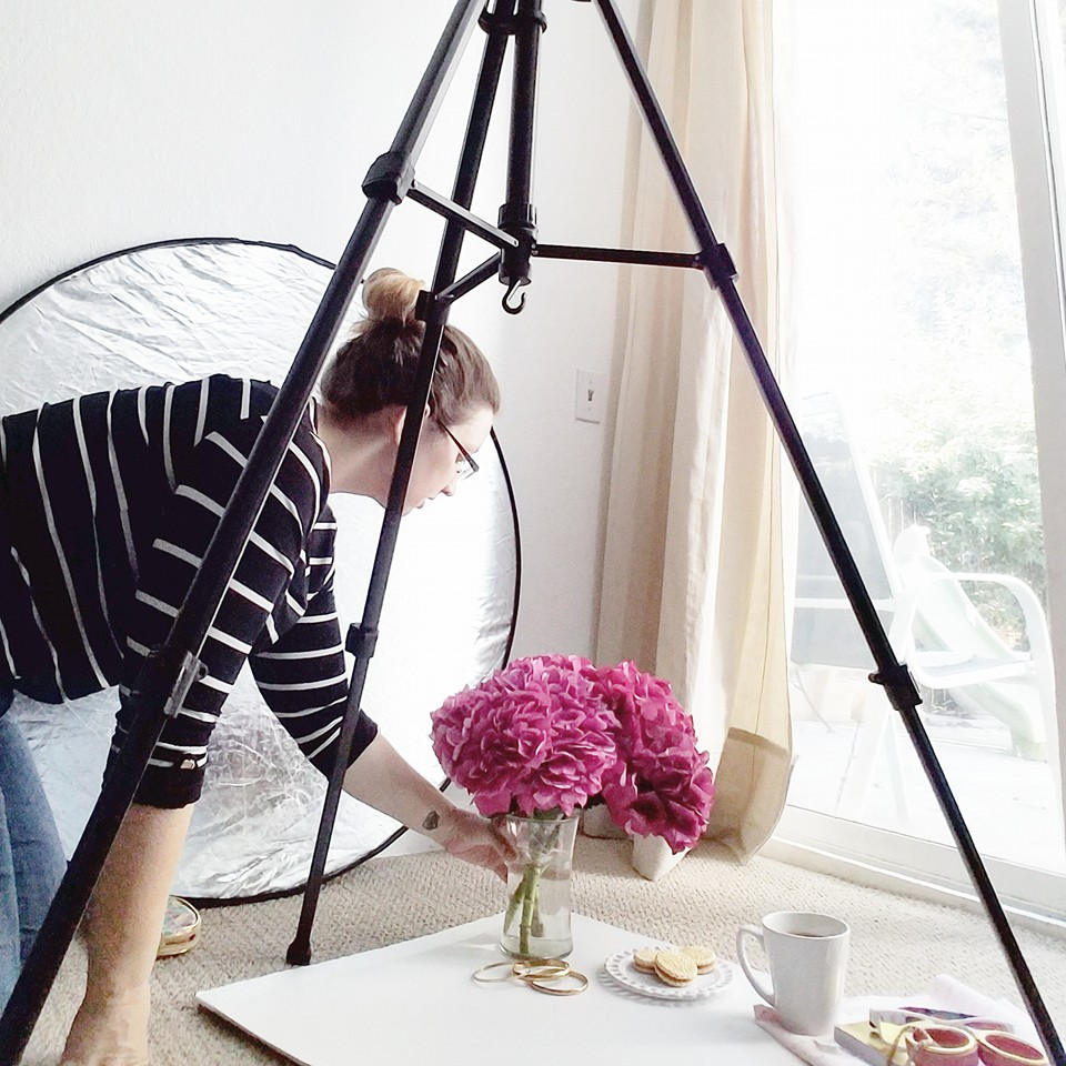 How planning and styling a photo shoot is like creating a vision for your business and blog
