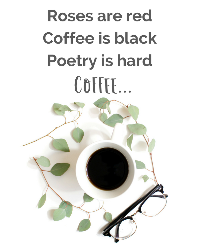 Valentines day Poetry about roses and coffee. Get stock photos on sale 35% off