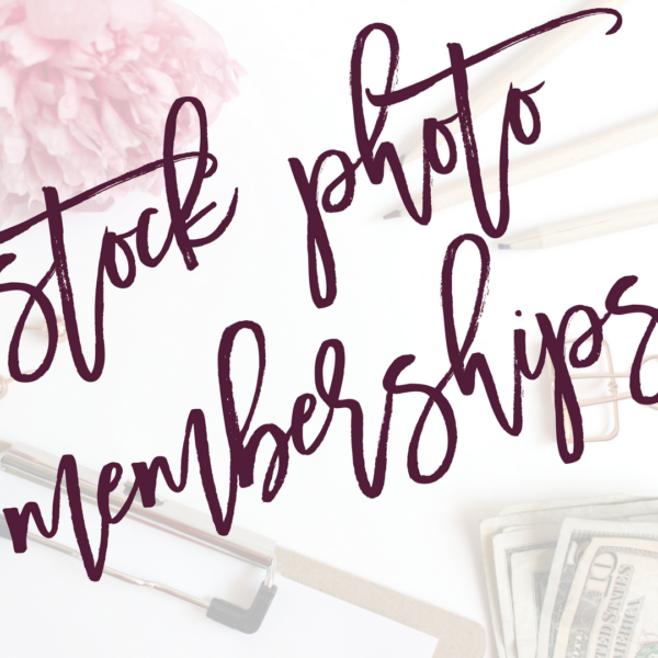 Styled Stock Photo Membership