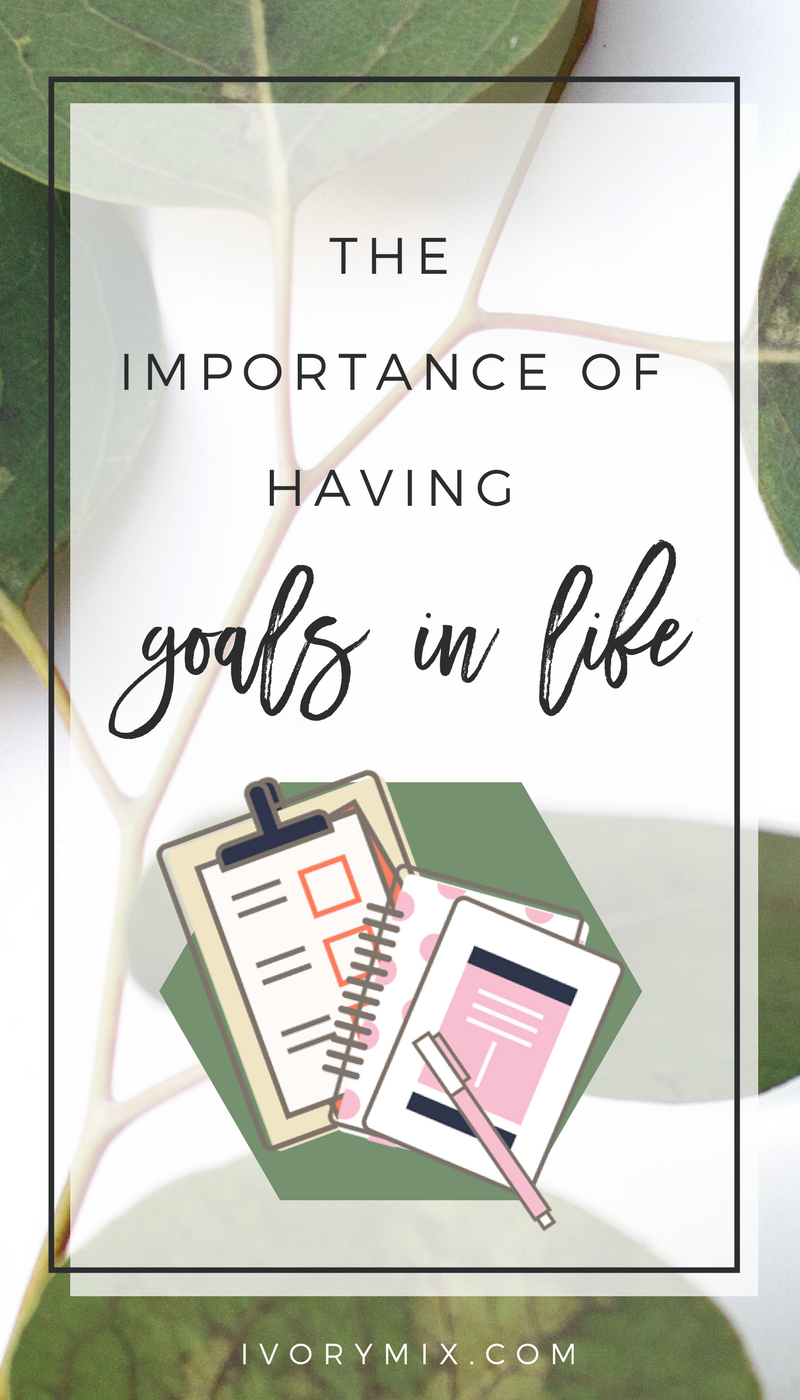 The importance of goals in life