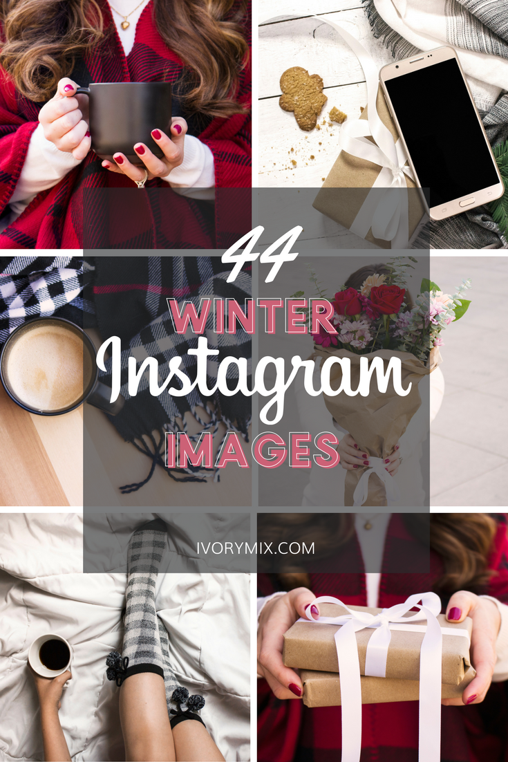 Winter Holiday Stock Photos for Instagram