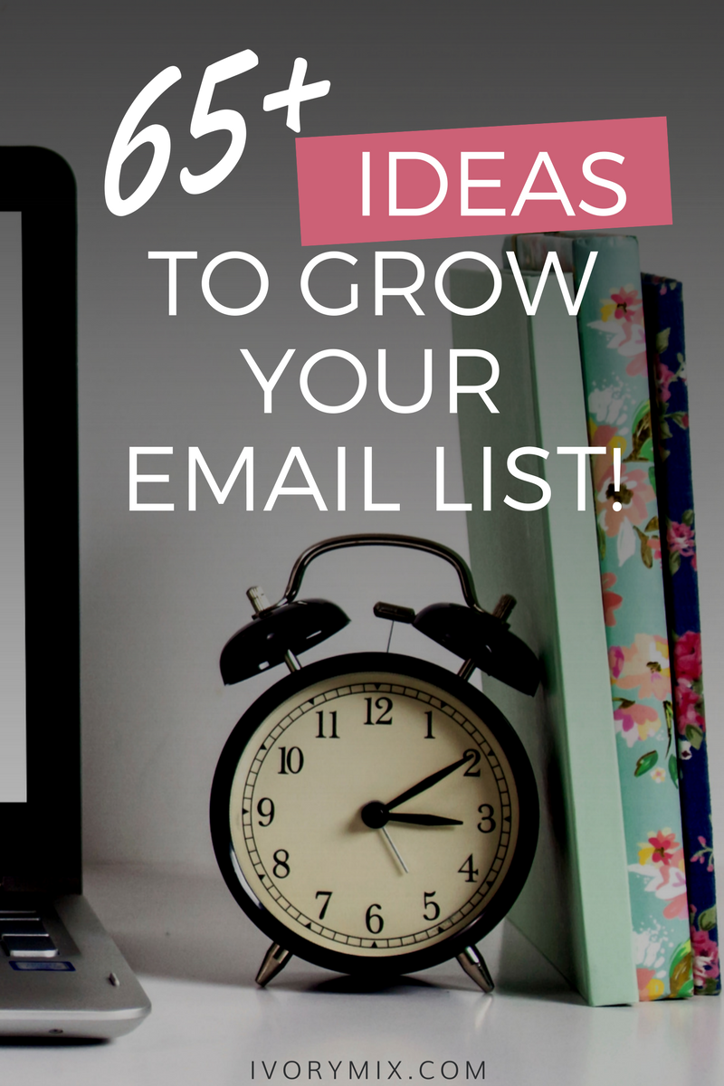 65 ideas to grow your email list with content upgrades