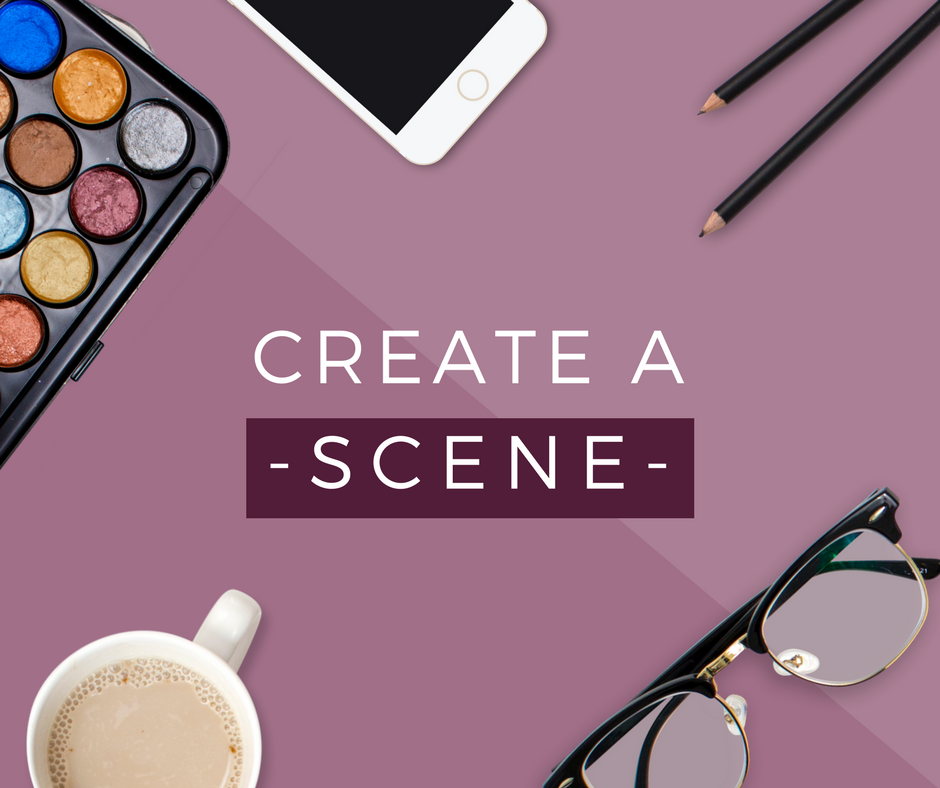 stock photo scene creator styled prop kit