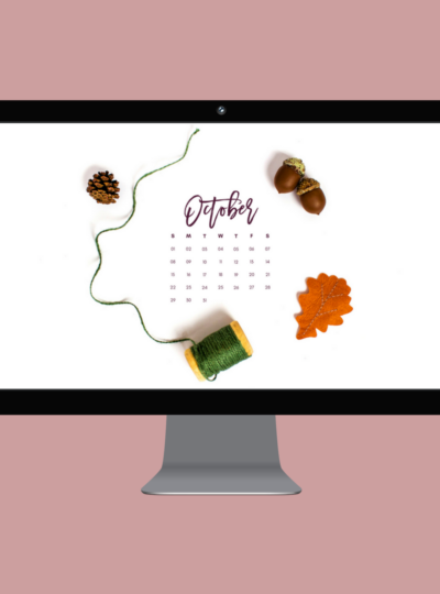 October 2017 Desktop Calendar Wallpaper Download