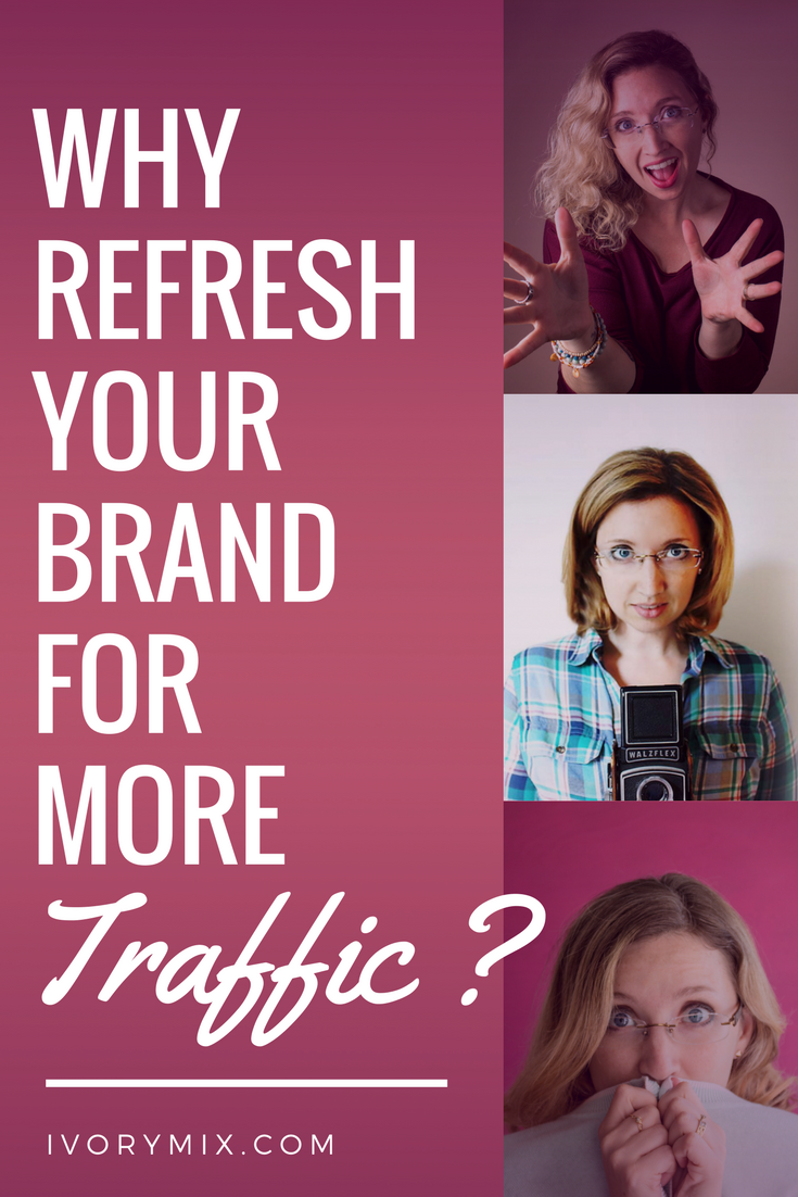 refresh your blog brand for more traffic