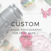 Custom Photography for blogs