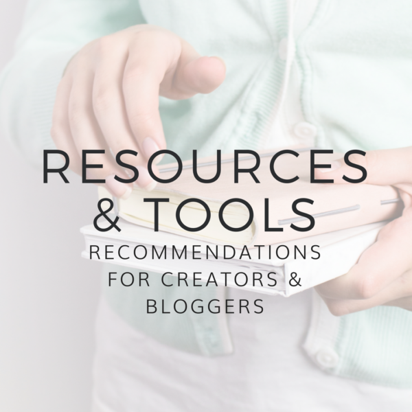 Tools & Resource Recommendations
