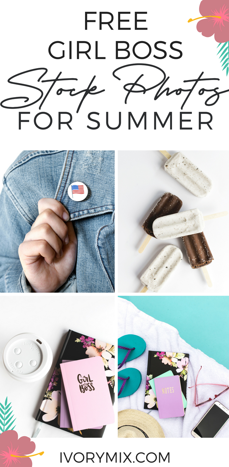 Summer Images for the Girl Boss Blogger - free stock photos for blogs websites bloggers