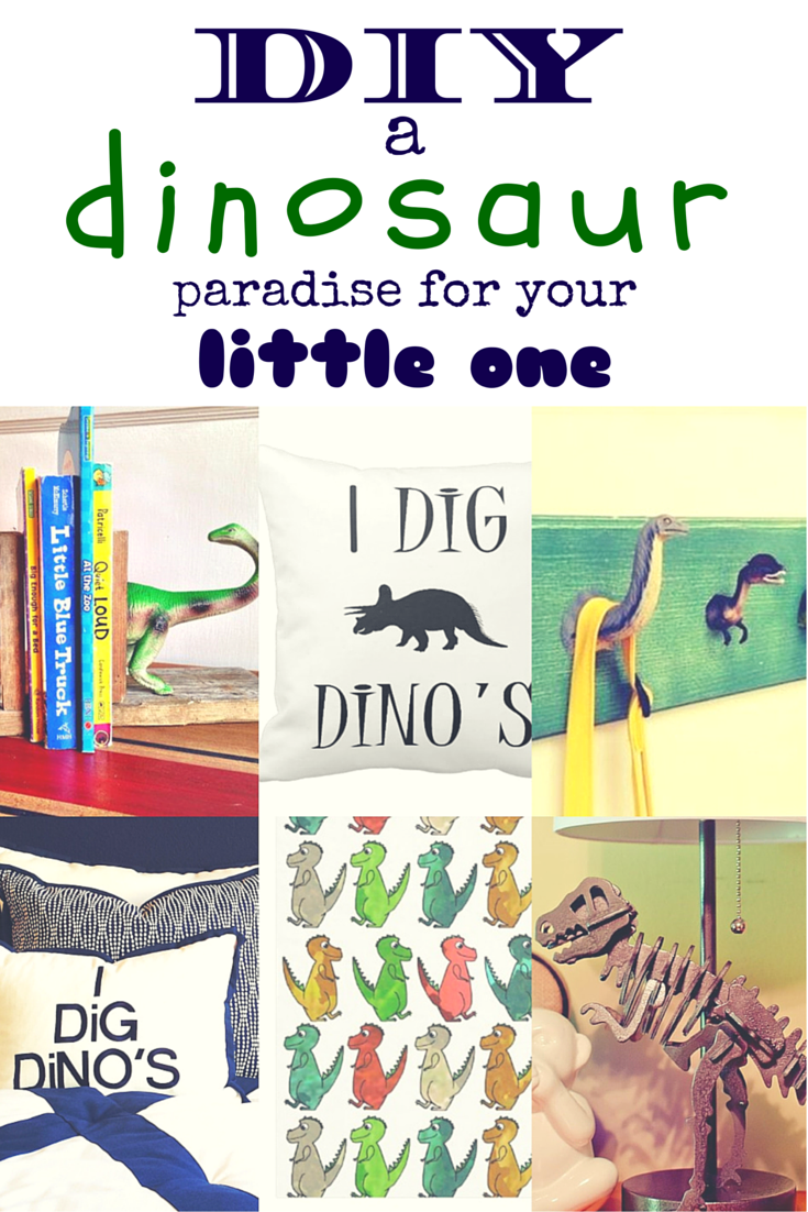 Dinosaur bedroom ideas you can DIY for your little one