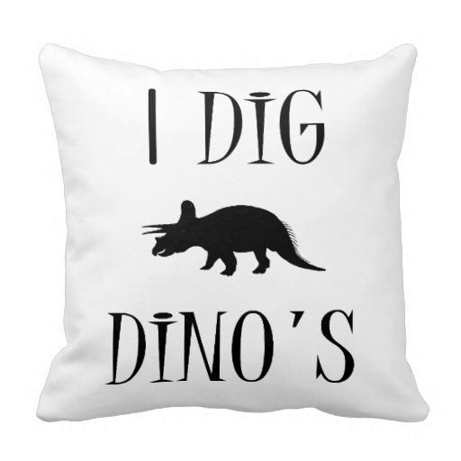 Dinosaur Bedroom Pillow