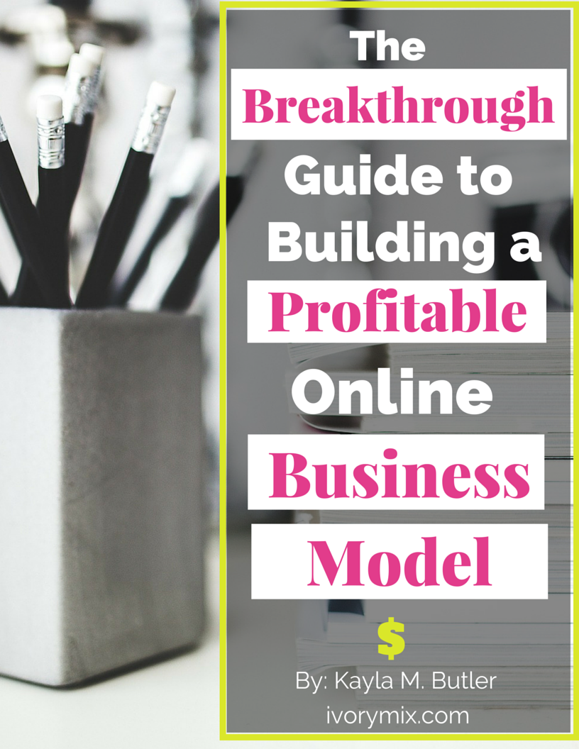 Build a business model book image
