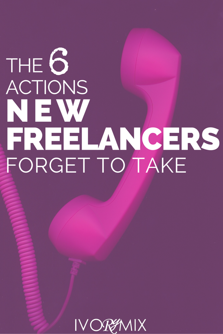 Find out the six things new freelancers forget to take when launching their business