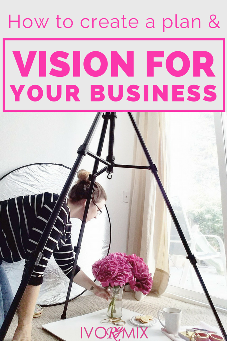 How to have vision and create a plan for your business