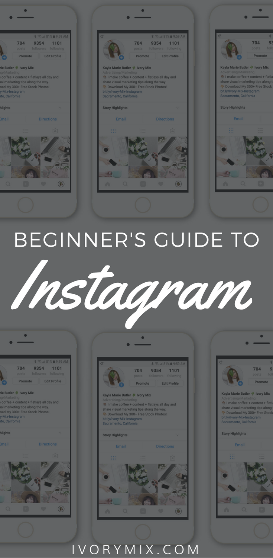 beginner's guide to Instagram