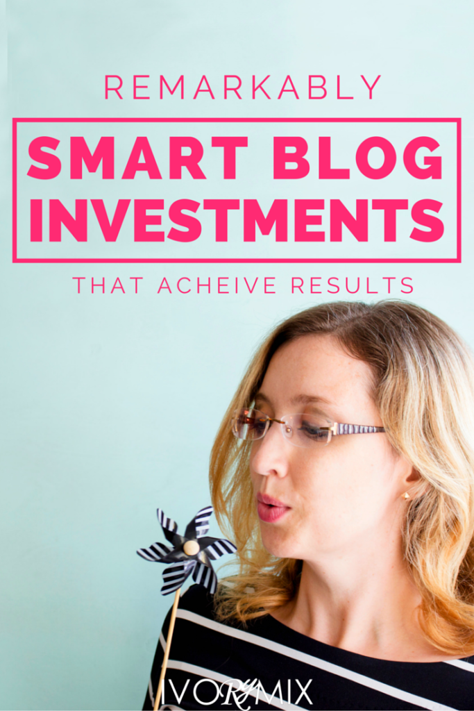 Remarkably smart investments and purchases to make for your blog