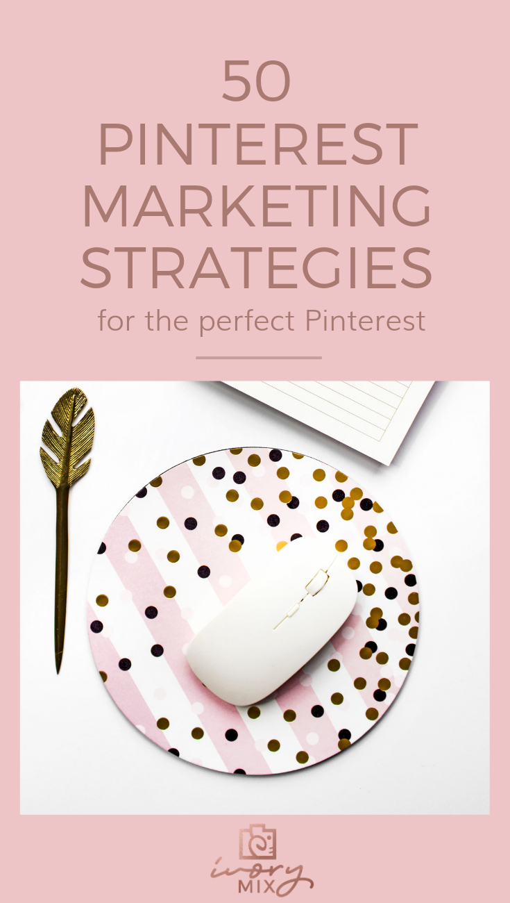 clever strategies for more exposure and traffic from pinterest. Get 50 pinterest growth strategies for your blog or business.