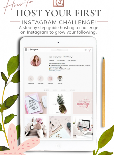 Why You Should Create an Instagram Challenge, and how
