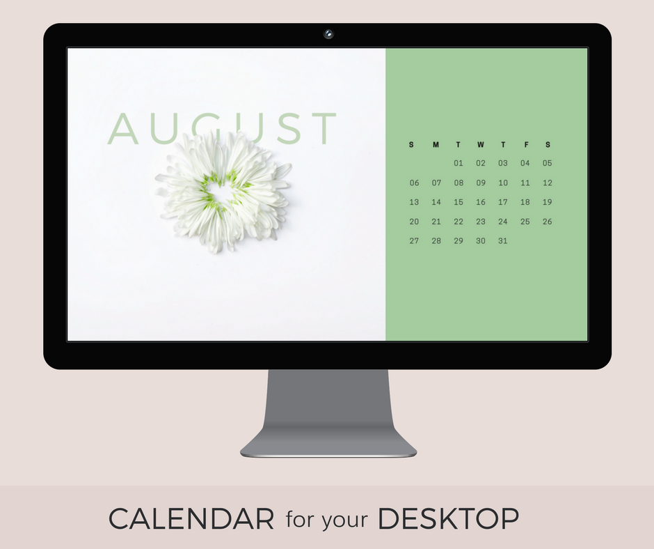 The Month Of Peridot A Green Gemstone Mineral Stone Which Is Why I Chose Colors For This Months Freebie Calendar Desktop Wallpaper