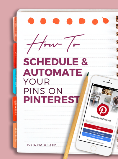 how to schedule and automate your pins on pinterest using tailwind and board booster