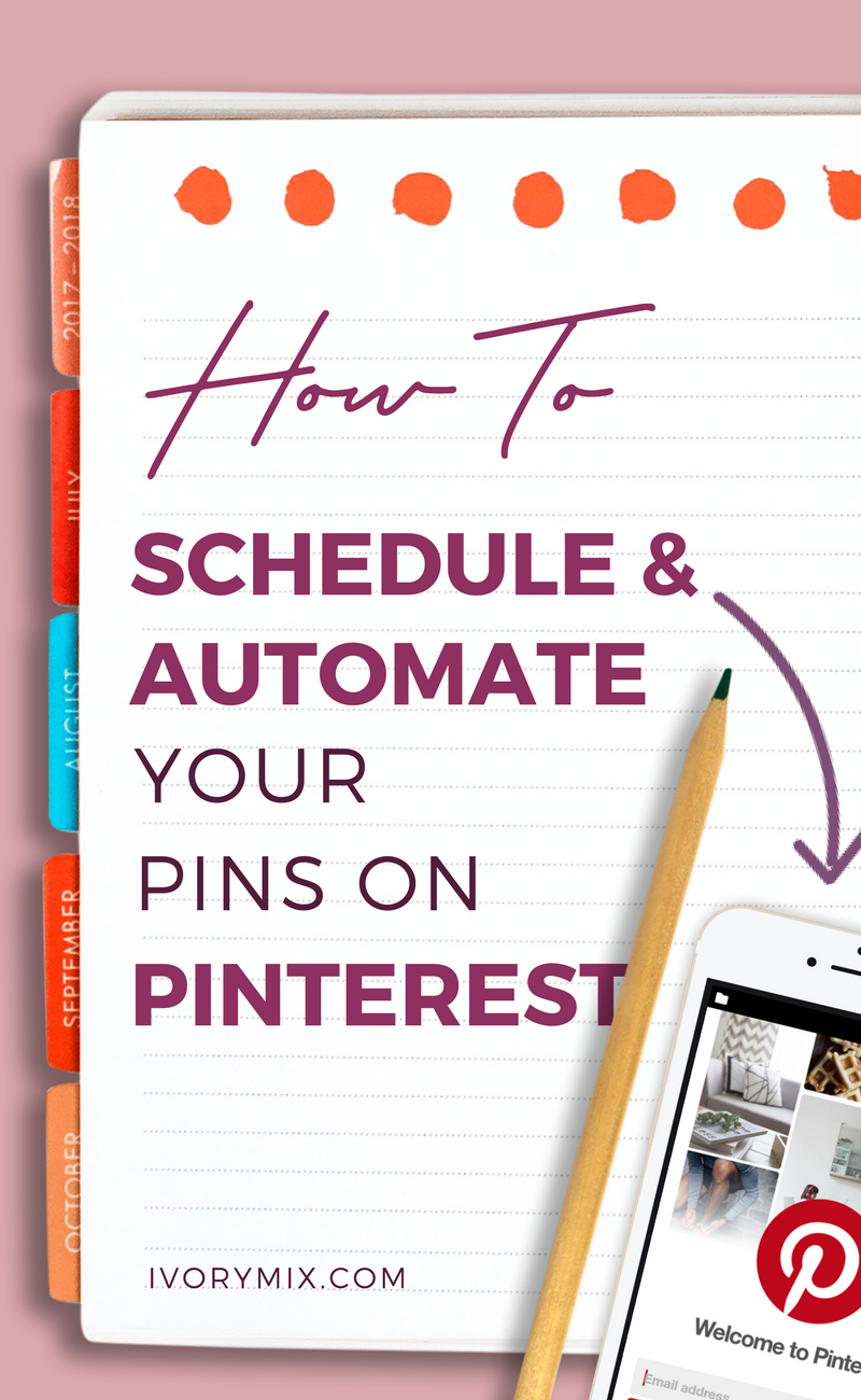How I schedule and automate pins on Pinterest to increase traffic to my blog using tailwind and boardbooster
