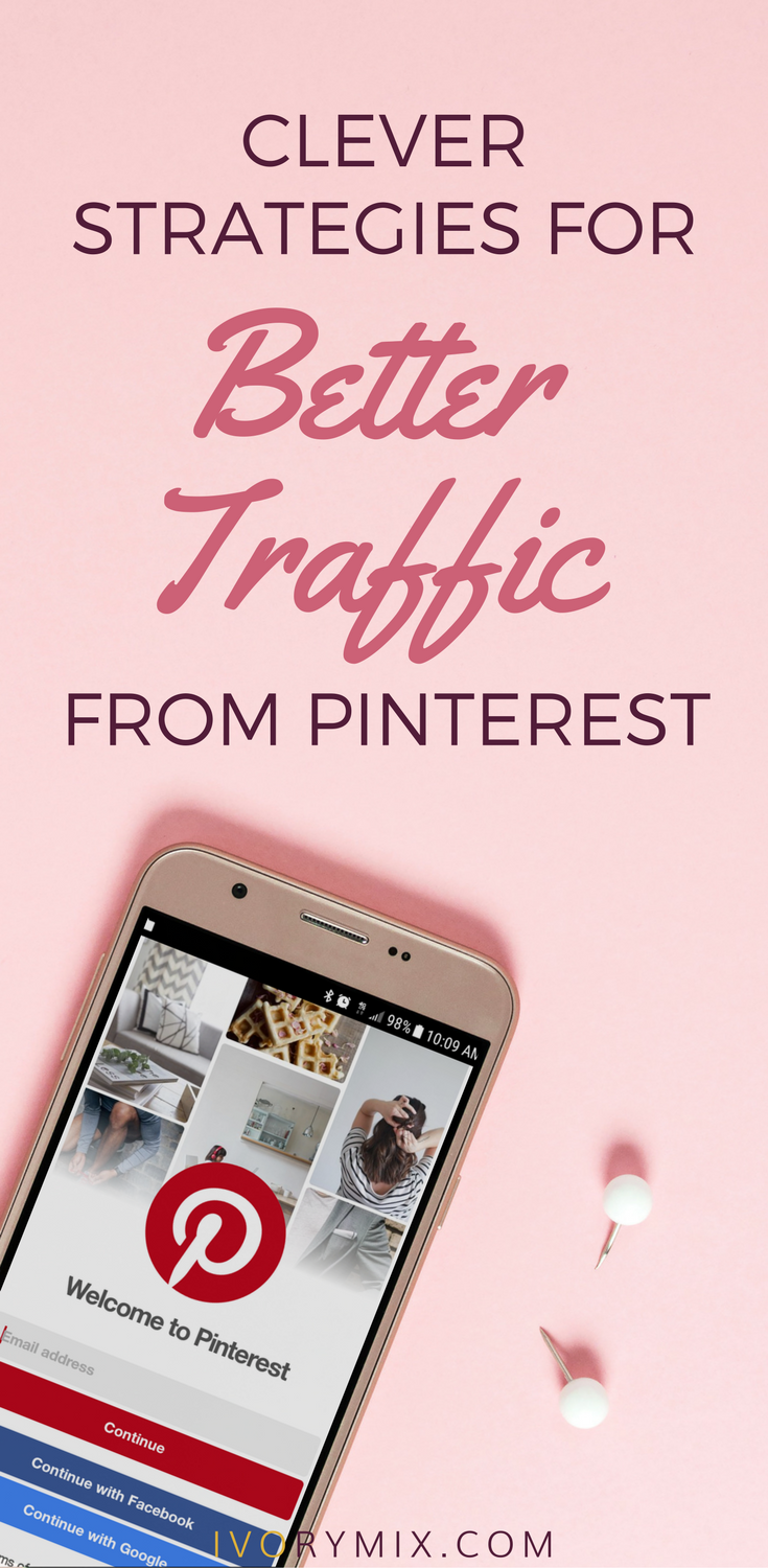 clever strategies for more exposure and traffic from pinterest