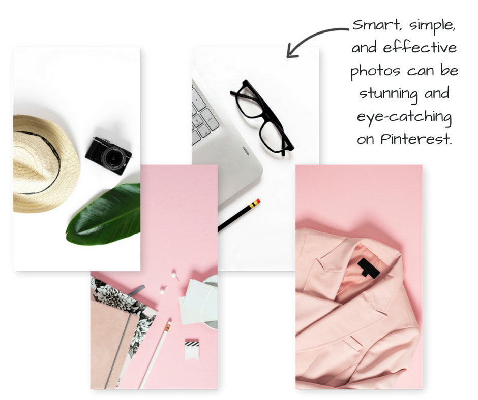 use free stock photos in your Pinterest designs - like these
