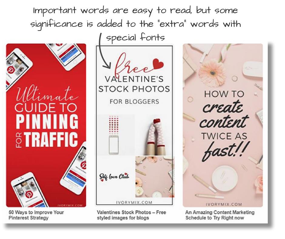Pinterest Pin Design Examples