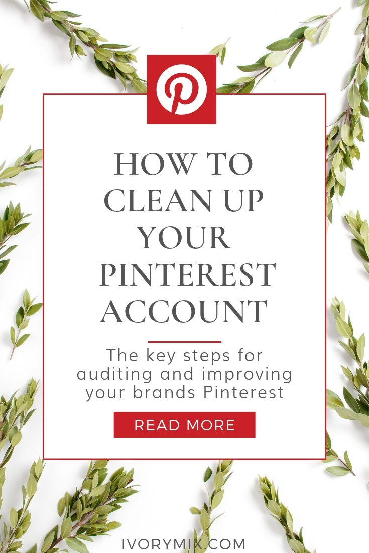 How to clean up your Pinterest Account (2)