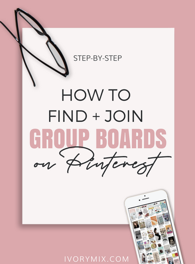 Easy! How to Find and Join Group Boards on Pinterest (and why)