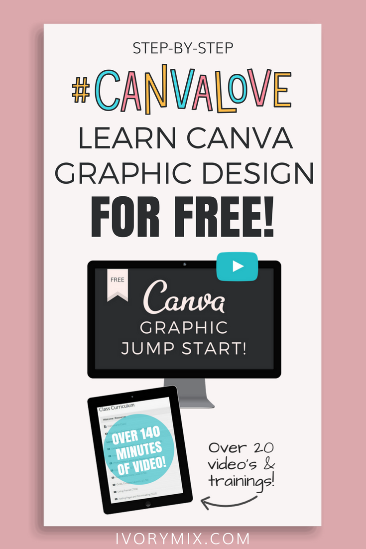 How to learn canva graphic design for free for your business and blog graphics