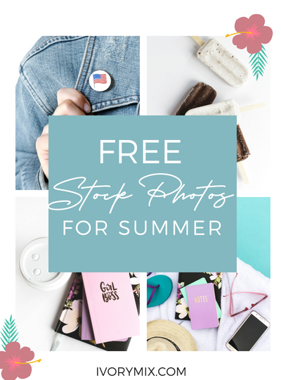 free stock photos for blogs websites bloggers - summer girl boss