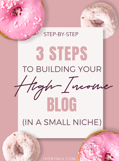 My 3 Essential Steps to Building a Profitable Blog in a Tiny Niche