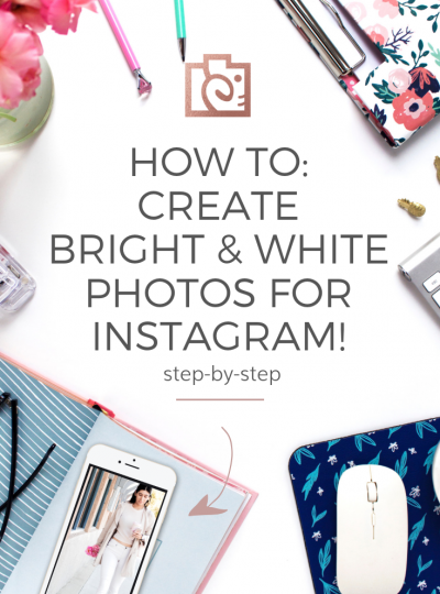 How to achieve bright white photos for instagram without photoshop || How to edit iPhone photos for a clean, bright + white Instagram feed,