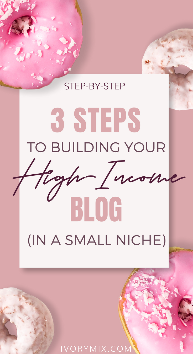 how to make money blogging in a small niche