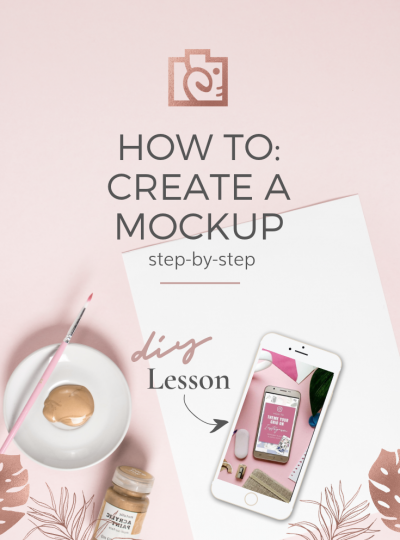 How to create a mockup on any screen