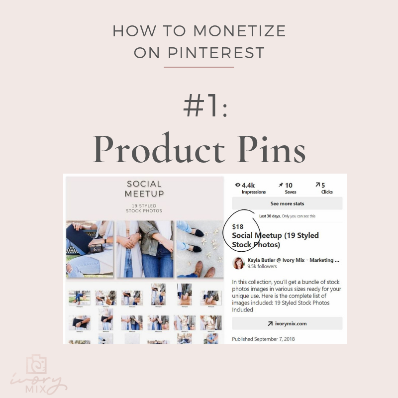 How to sell your products on pinterest with shoppable pins How to make money on pinterest