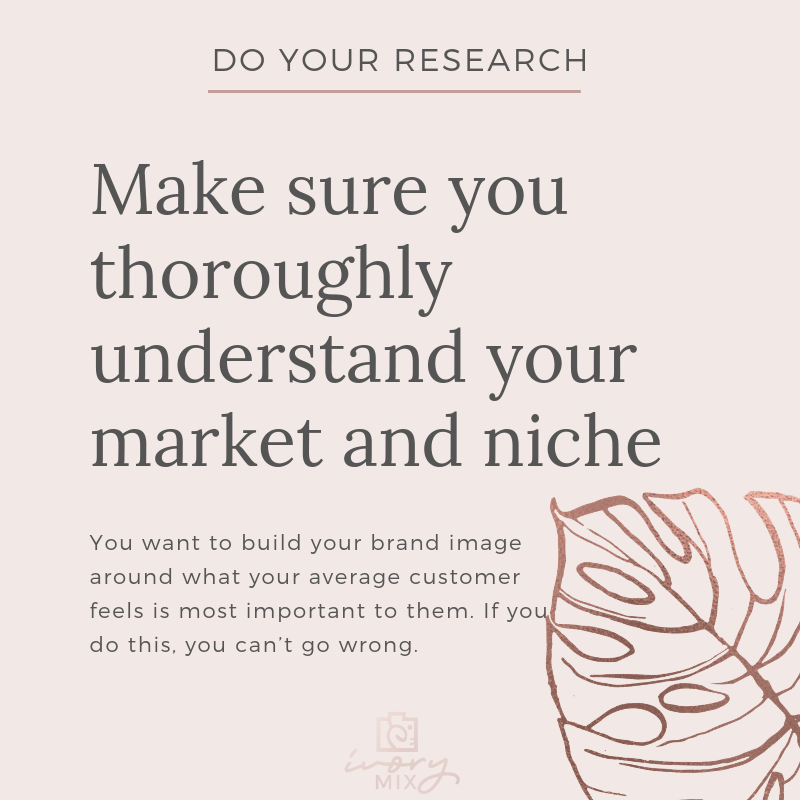 Complete guide to blog and business branding - Research your niche