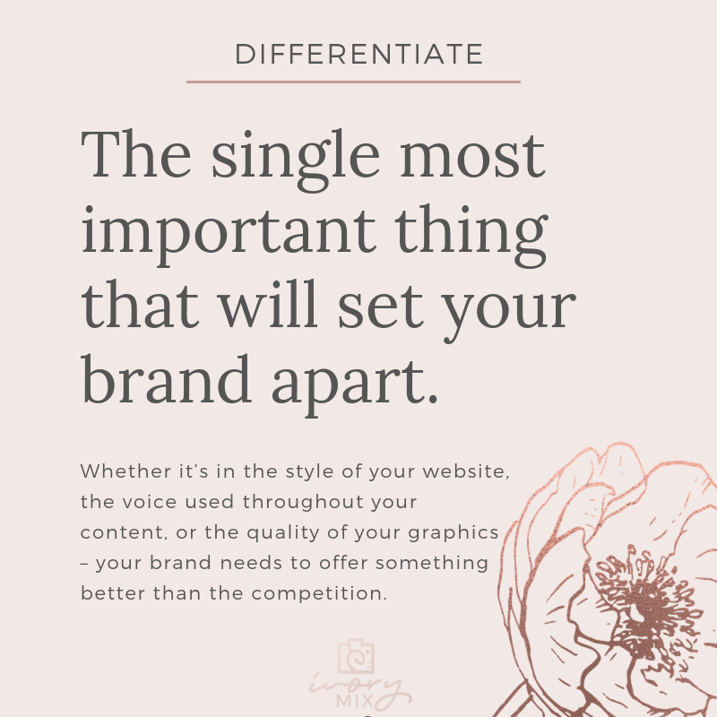 Complete guide to blog and business branding - single most important thing
